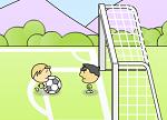 כדורגל אחד על אחד