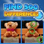 מצאו 500 הבדלים