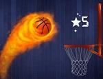 לחיצה על כדורסל