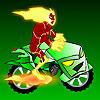 בן 10 אופנוע חייזרי